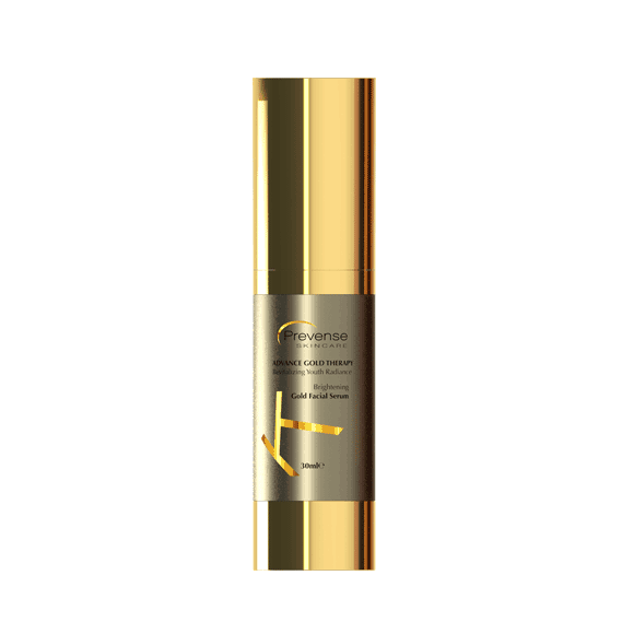 gold facial serum